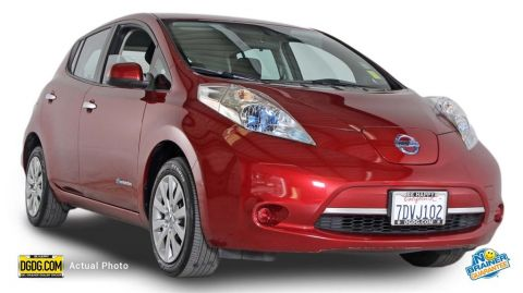 Certified Used Nissan Leaf S