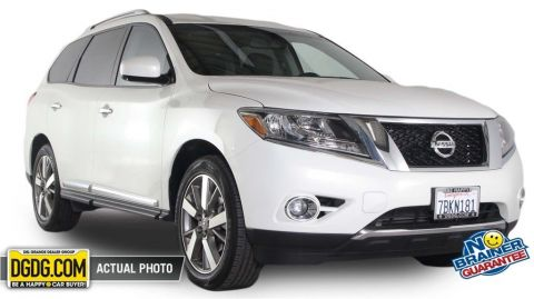 Certified Used Nissan Pathfinder Platinum
